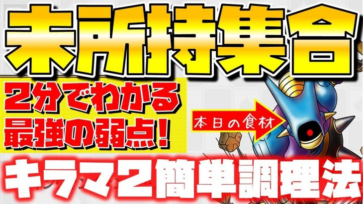 """【ドラクエタクト】""""キラーマシン2分クッキング""""キラマ2未所持集合【闘技場で溢れる前に…】"""
