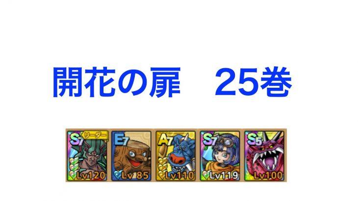 【ドラクエタクト】開花の扉 25巻攻略